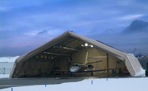 直升机机库篷房