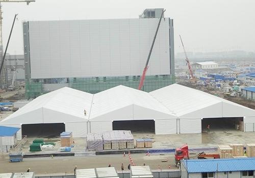 西安电子厂仓库篷房