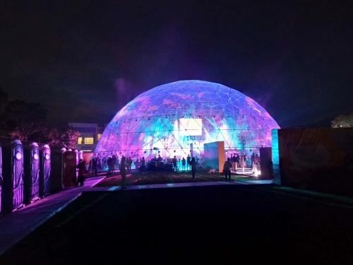 草莓音乐节球形透明篷房
