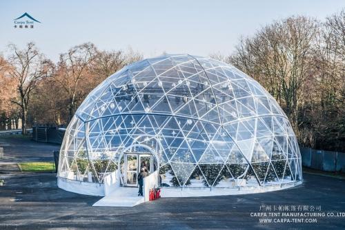 汽车发布会活动球形篷房
