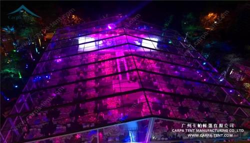 福建厦门30x40m透明婚庆篷房