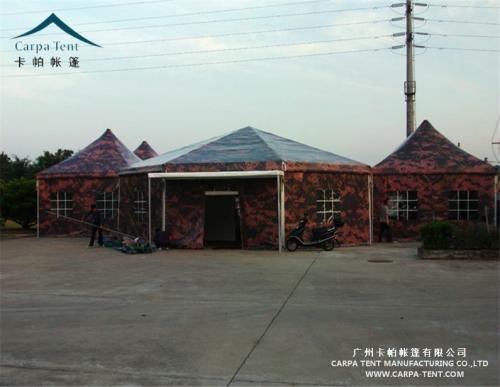 军用框架结构篷房