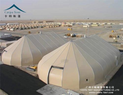矿山装配式移动厂房篷房