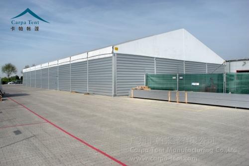 模块化原生态新型仓储篷房