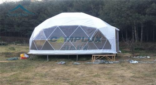 云南保山度假景区6米球形帐篷酒店