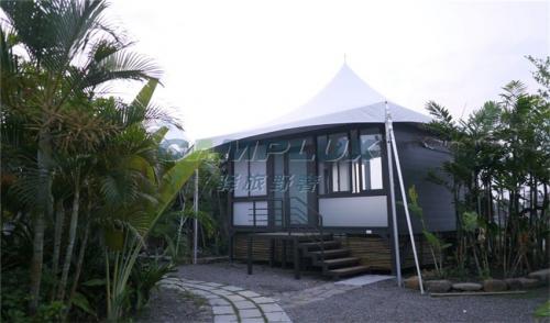马来西亚度假露营野奢帐篷酒店