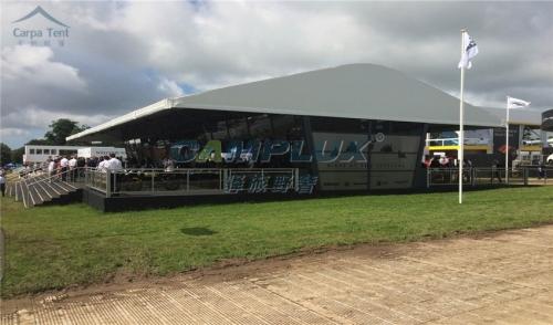 装配式铝合金结构餐厅篷房