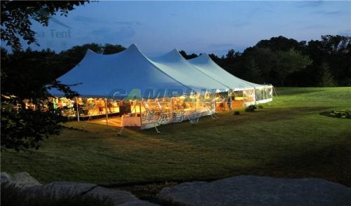 户外婚庆活动撑杆篷房