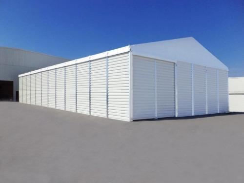 仓储篷房三个主要组成部分