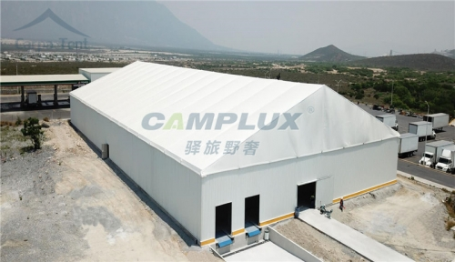 从篷房材质用料上分析仓储篷房的安全
