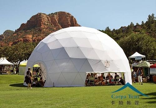 贵州25米球形篷房