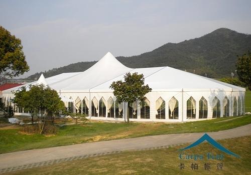 25米跨度混合型组合篷房