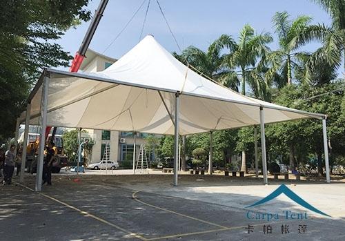 9m×9m欧式尖顶帐篷房