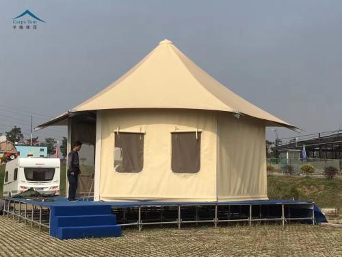 膜结构帐篷酒店