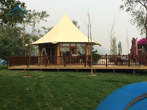 景区组合套房酒店帐篷