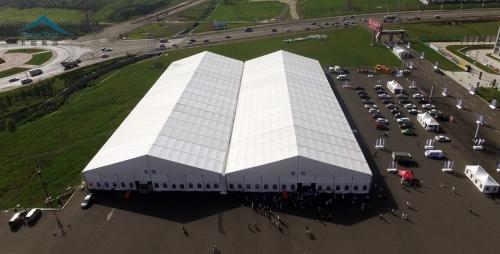 40米跨度展览篷房