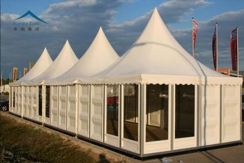 6mx6m欧式尖顶帐篷房