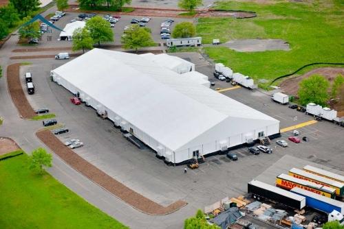 18米跨度铝合金活动篷房
