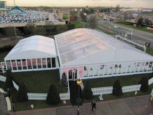 30米跨度弧形篷房