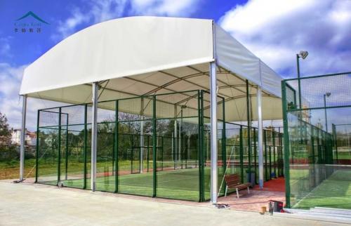 弧顶网球篷房