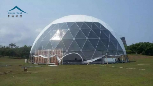 成都车展活动球形篷房