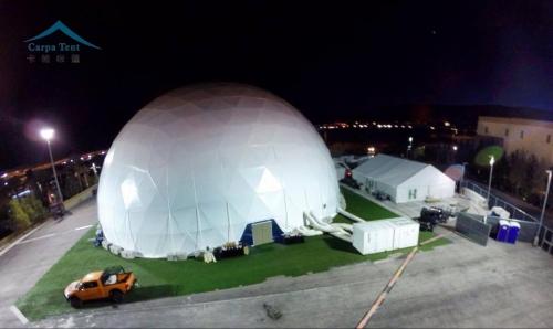 成都景区接待中心球形篷房