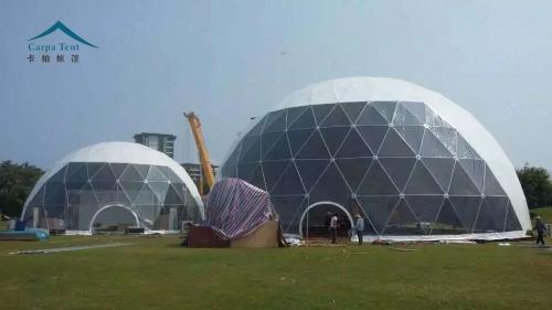 啤酒节巡展活动球形篷房