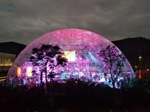 35米全透明球形篷房