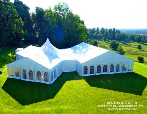15x30m混合型活动篷房