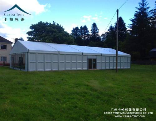 硬体墙展览篷房