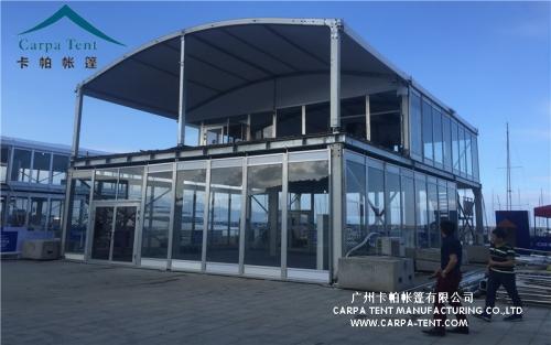 帆船体育赛事双层篷房