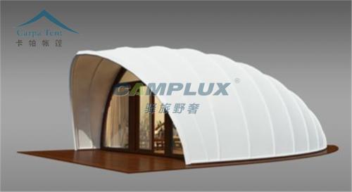 新型贝壳帐篷酒店生产厂家