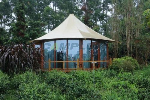 云南茶园原生态酒店帐篷