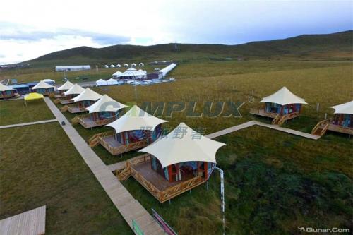 呼伦贝尔大草原生态帐篷酒店