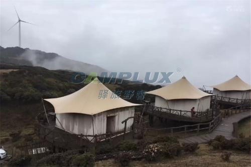 盘县乌蒙大草原拉膜结构帐篷酒店